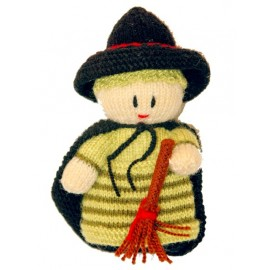 عروسک بافتنی جادوگر کوچولو