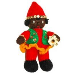 عروسک بافتنی حاجی فیروزمدل شماره 2