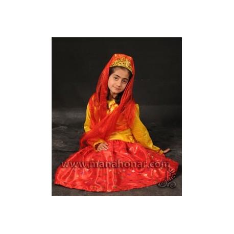 لباس محلی دختران بختیاری