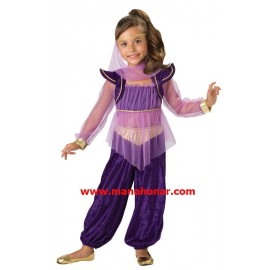 لباس بالماسکه و نمایشی جازمین دختر عرب