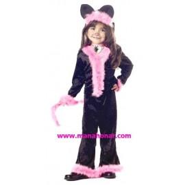 لباس نمایشی و بالماسکه دختر گربه ای