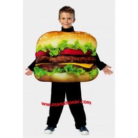 لباس نمایشی همبرگر