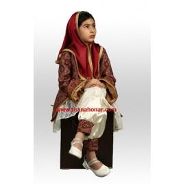 لباس ترمه قاجار سنبل