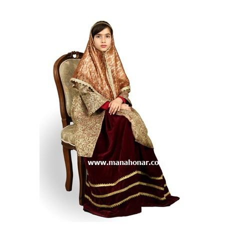 لباس قاجار دختران جیران