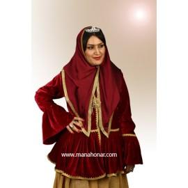لباس قاجار مدل شماره 5