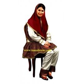 لباس قاجار مدل شماره 6
