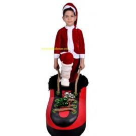 لباس بابانوئل پسران مدل شماره 1