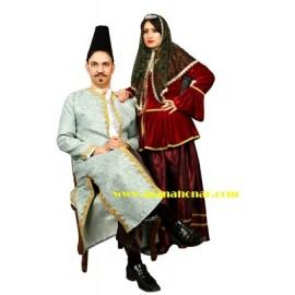 لباس قاجار مدل شماره 4