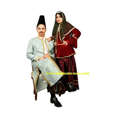 لباس قاجار 4