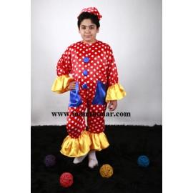 لباس دلقک مدل شماره 2