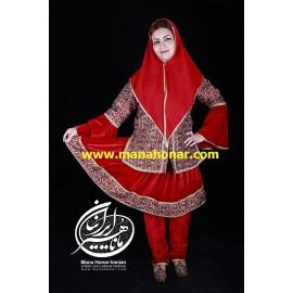 لباس قاجار خورشید