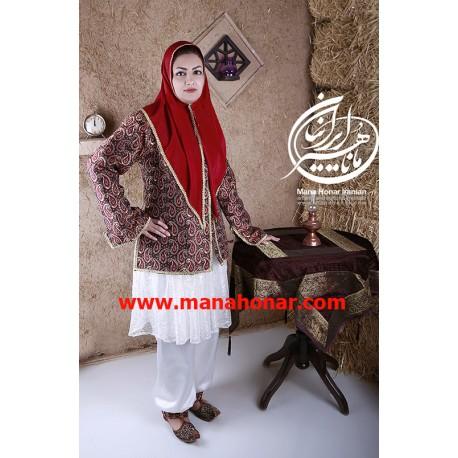 لباس قاجار افتخار