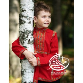 پیراهن سنتی ترکمن ایلکان