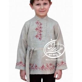 پیراهن سنتی ترکمن آلپای