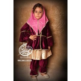 لباس قاجار دختران انیس