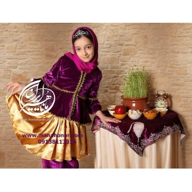 لباس قاجار انیس