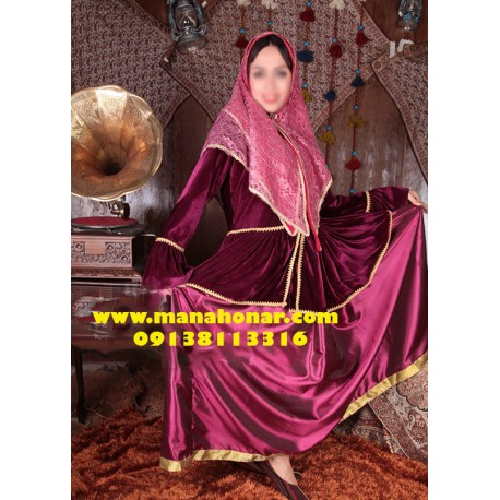 لباس قجری زینت