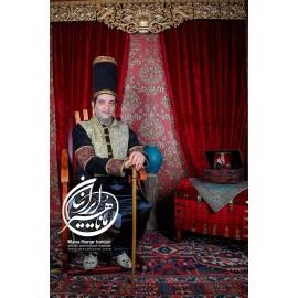 لباس قاجار اتابک