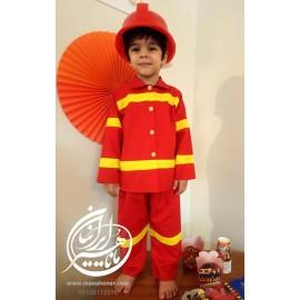لباس آتشنشان مدل شماره 2
