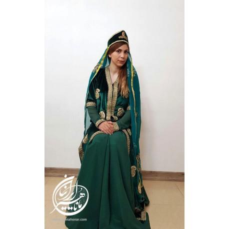 لباس ایرانی زمرد