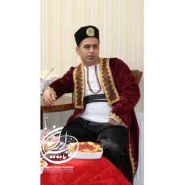 لباس قاجار مسعود میرزا