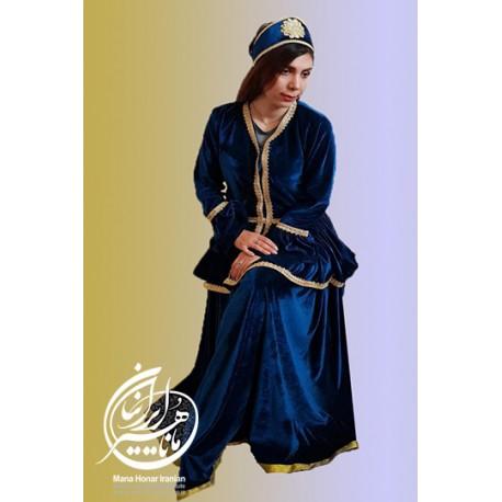 لباس قاجاری پری سلطان 1