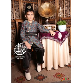 Traditional Qajar dress