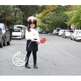 لباس پلیس دخترانه