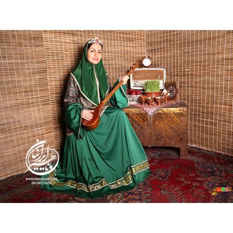 لباس قجری ماهتاج