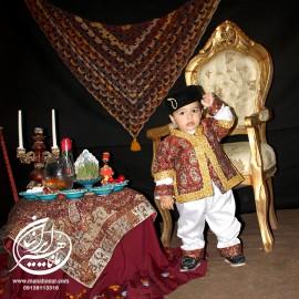 لباس کودک قاجار 1