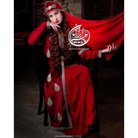لباس سنتی ایرانی عقیق