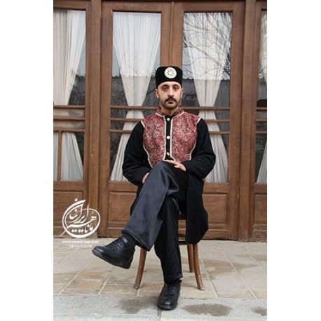 لباس قاجاری ضیاءالدین