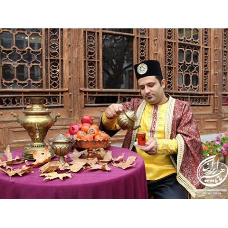 لباس قجری احمد میرزا
