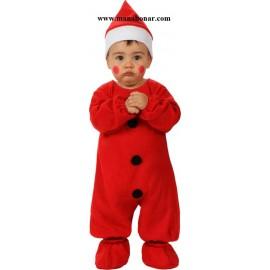لباس بابانوئل خردسالان