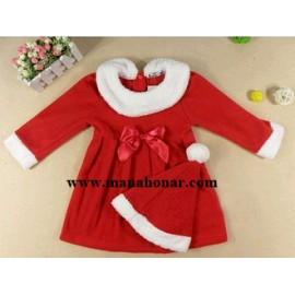 لباس بابانوئل دختران1