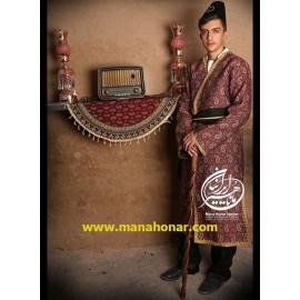 لباس قاجاری اعتضاد